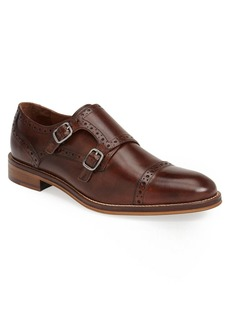 Johnston & Murphy Conard Double Monk Strap Slip-On (Men)