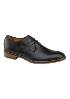 Johnston & Murphy Conard Leather Plain Toe Oxfords