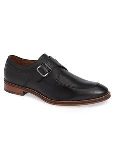 Johnston & Murphy Conard Monk Strap Shoe (Men)