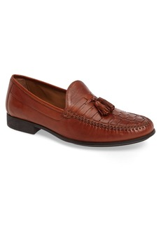 Johnston & Murphy Cresswell Woven Tassel Loafer (Men)