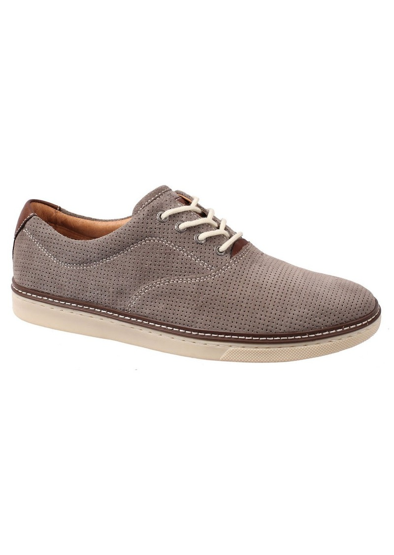 JOHNSTON & MURPHY Culling Suede Perforated Sneakers