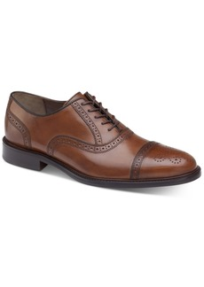 Johnston & Murphy Daley Cap-Toe Oxfords Men's Shoes
