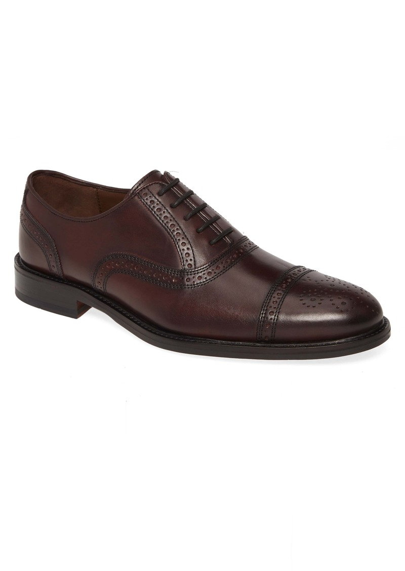 Johnston & Murphy Daley Medallion Toe Oxford (Men)