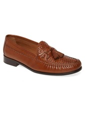 Johnston & Murphy Domani Woven Tassel Loafer (Men)