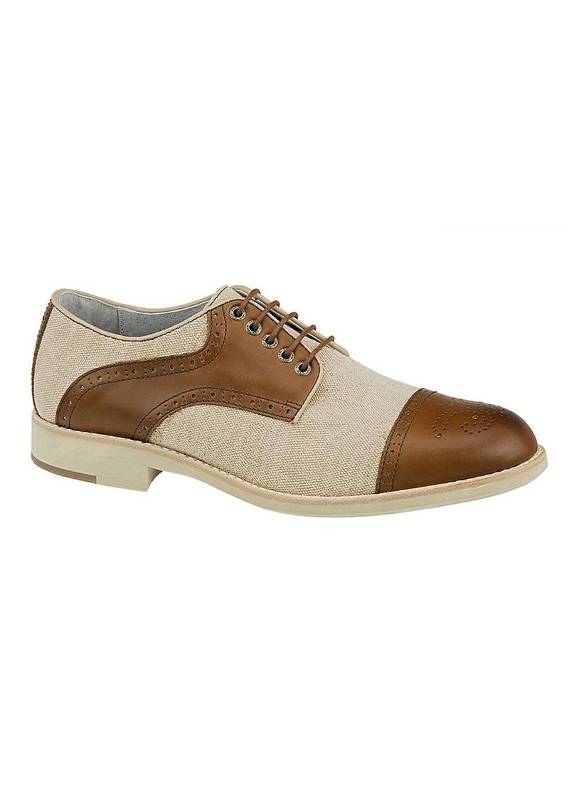 JOHNSTON & MURPHY Ellington Leather Saddle Shoes