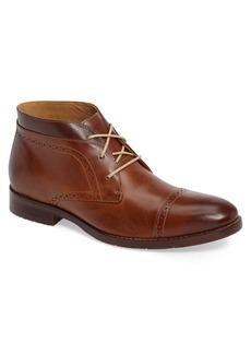 Johnston & Murphy Garner Cap Toe Chukka Boot (Men)