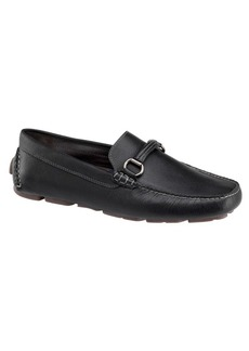 Johnston & Murphy Gibson Moc-Toe Leather Loafers