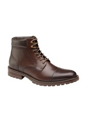 Johnston & Murphy Hobson Cap Toe Boot (Men)