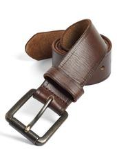 Johnston & Murphy Belt & Slip-On