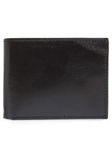 Johnston & Murphy Leather Flip Wallet
