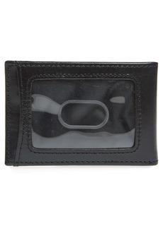 Johnston & Murphy Leather Folding Card Case