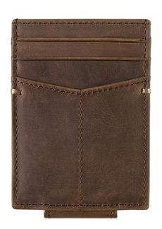 Johnston & Murphy Leather Front Pocket Wallet