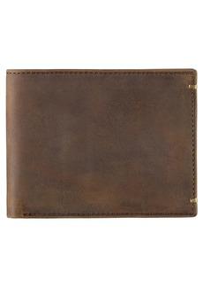 Johnston & Murphy Leather Slimfold Wallet