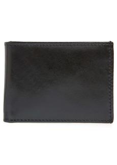 Johnston & Murphy Leather Super Slim Wallet