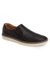 Johnston & Murphy McGuffey Woven Slip-On Sneaker (Men)