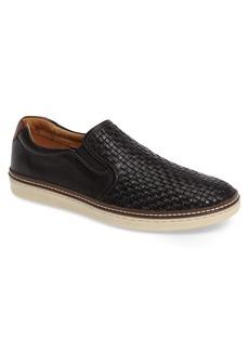 Johnston & Murphy McGuffey Woven Slip-On Sneaker (Men)