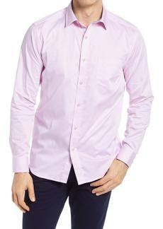 Johnston & Murphy Medallion Print Button-Up Shirt