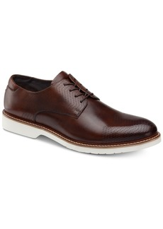 Johnston & Murphy Men's Atwell Textured Oxfords, Created for Macy's Men's Shoes