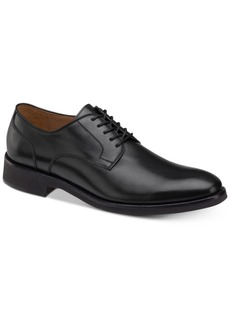Johnston & Murphy Men's Carlson Plain-Toe Derby Oxfords Men's Shoes