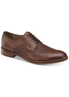 Johnston & Murphy Men's Conard Embossed Wingtip Bluchers Men's Shoes