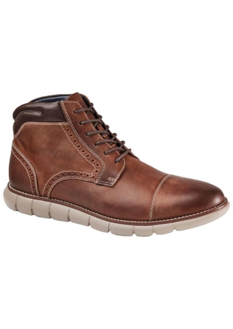 Johnston & Murphy Men's Eaton Cap Toe Boot Men's Shoes
