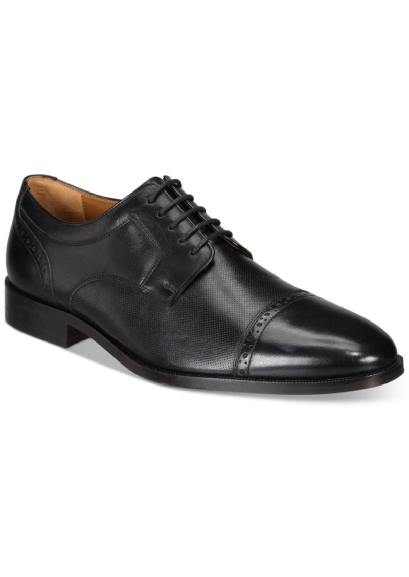 Johnston & Murphy Men's Hernden Cap-Toe Oxfords Men's Shoes