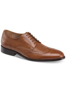Johnston & Murphy Men's Hernden Perforated Wingtip Lace-Up Oxfords Men's Shoes