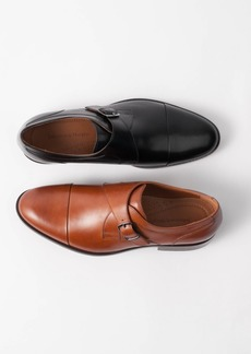 Johnston & Murphy Men's Hernden Single Monk Cap-Toe Loafers Men's Shoes