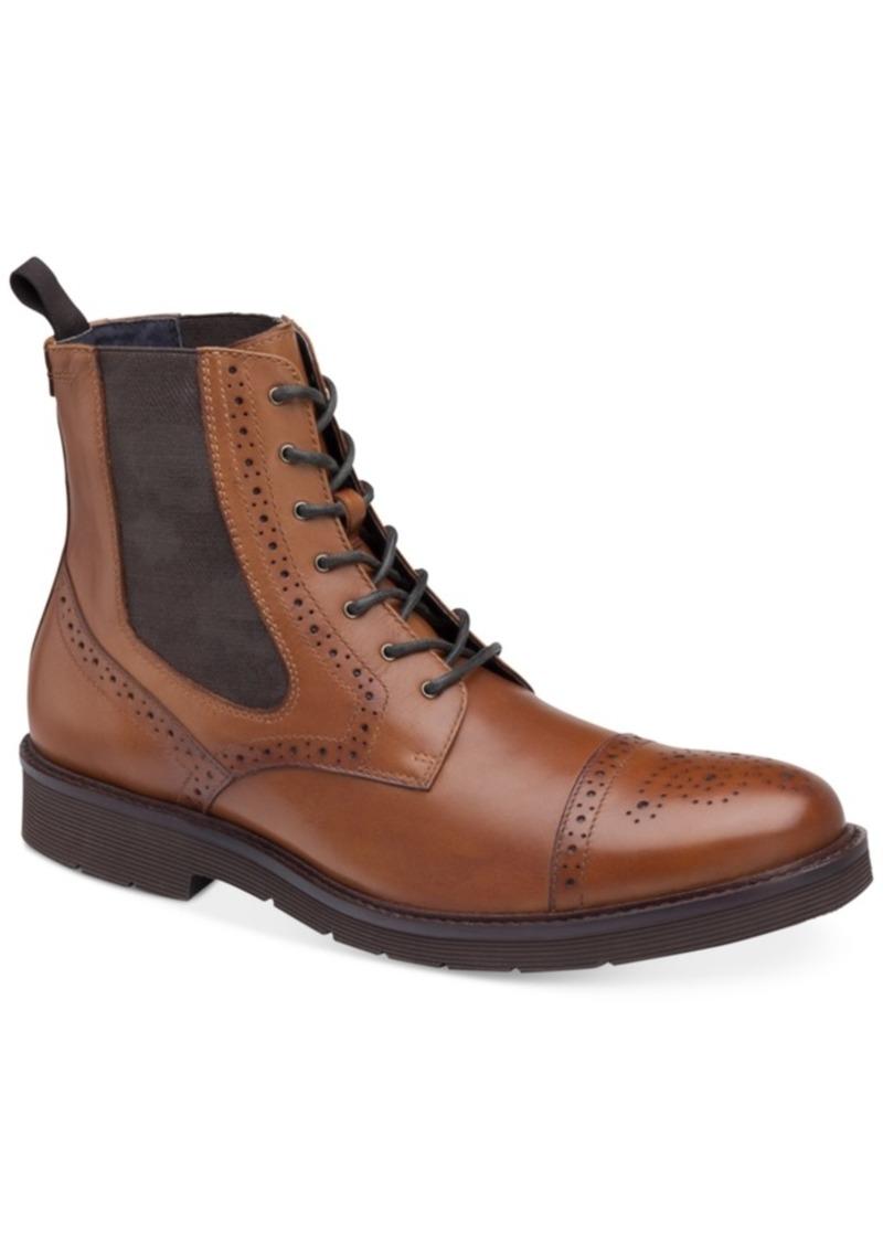 Johnston & Murphy Men's Kinley Cap Toe Boots Men's Shoes