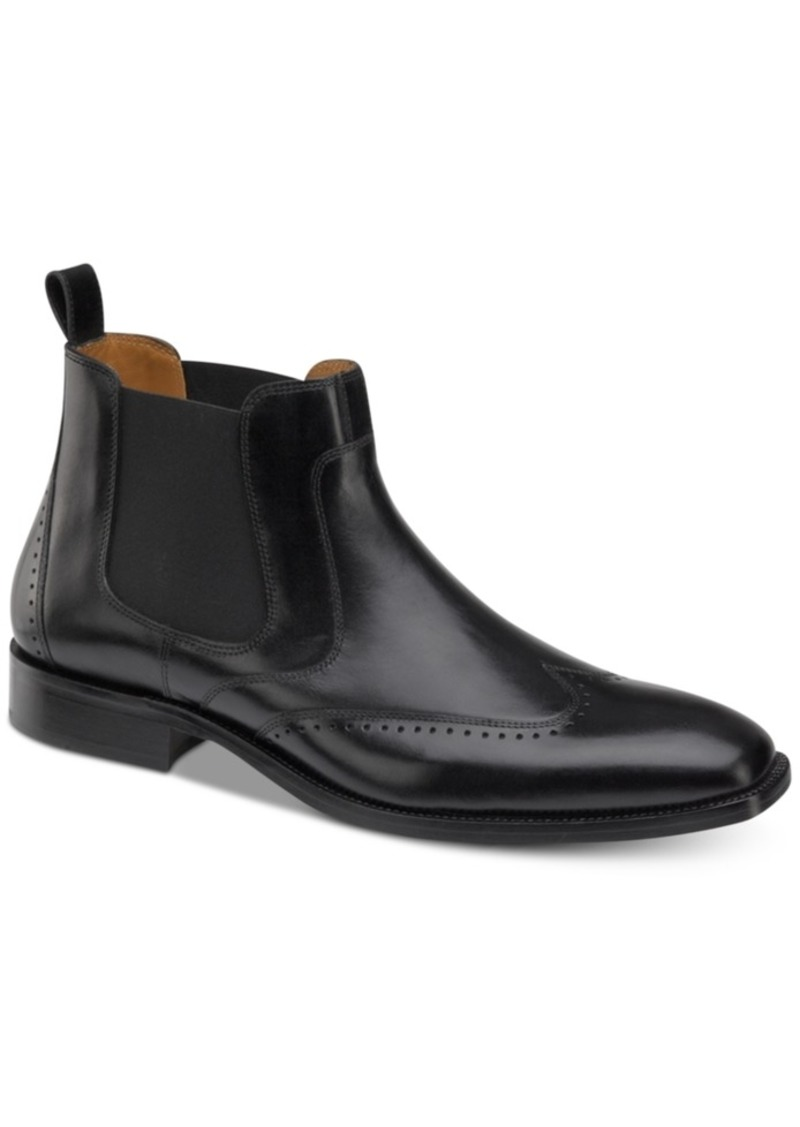 Johnston & Murphy Men's Sanborn Chelsea Boots Men's Shoes
