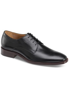 Johnston & Murphy Men's Sanborn Plain-Toe Lace-Up Oxfords Men's Shoes