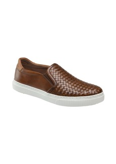 Johnston & Murphy Men's Toliver Woven Slip-On Loafers Men's Shoes