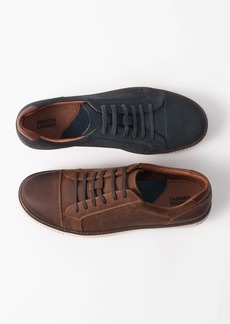 Johnston & Murphy Men's Walden Cap-Toe Suede Lace-Up Sneakers Men's Shoes