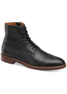 Johnston & Murphy Men's Warner Cap-Toe Zip Boots Men's Shoes