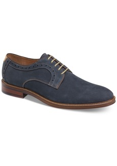 Johnston & Murphy Men's Warner Plain-Toe Lace-Up Oxfords Men's Shoes