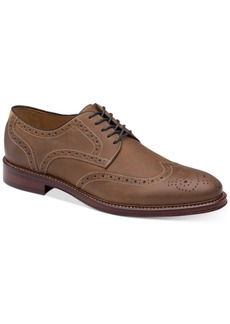 Johnston & Murphy Men's Warner Wingtip Oxfords Men's Shoes