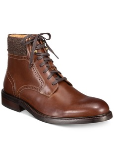 Johnston & Murphy Men's Willis Plain-Toe Boots Men's Shoes