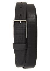 Johnston & Murphy Mini Embossed Leather Belt