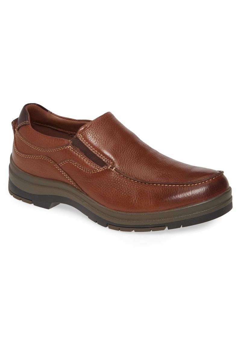 Johnston & Murphy Moc Toe Waterproof Venetian Loafer (Men)