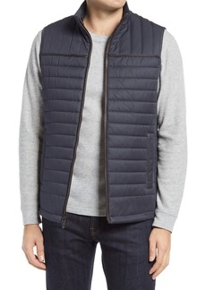 Johnston & Murphy Quilted Twill Vest