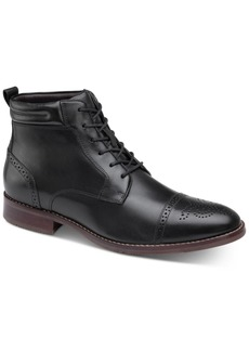 Johnston & Murphy Redding Cap-Toe Boots Men's Shoes