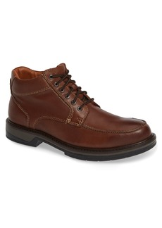 Johnston & Murphy Rutledge Waterproof Moc Toe Boot (Men)