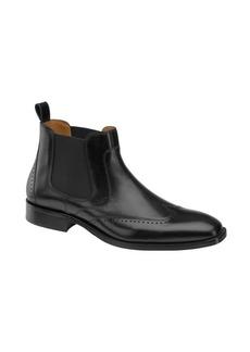 Johnston & Murphy Sanborn Leather Chelsea Boots