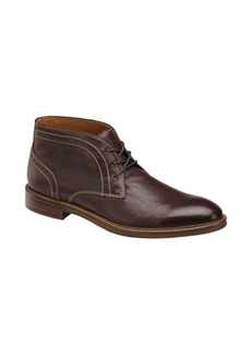 Johnston & Murphy Warner Leather Chukka Boots