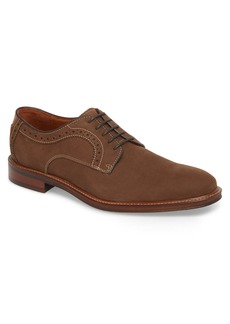 Johnston & Murphy Warner Plain Toe Derby (Men)