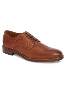 Johnston & Murphy Warner Plain Toe Derby (Men)