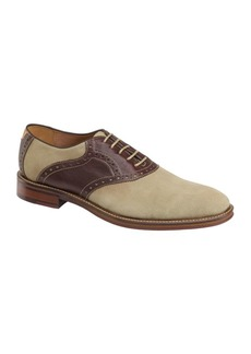 Johnston & Murphy Warner Plain Toe Water-Resistant Leather Oxford