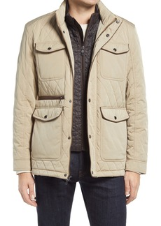 Johnston & Murphy Water Resistant Quilted Jacket