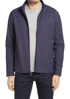 Johnston & Murphy XC4 Textured Mélange Zip-Up Jacket
