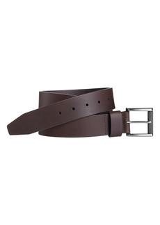 Johnston & Murphy Men's Johnson & Murphy Roller Buckle Leather Belt